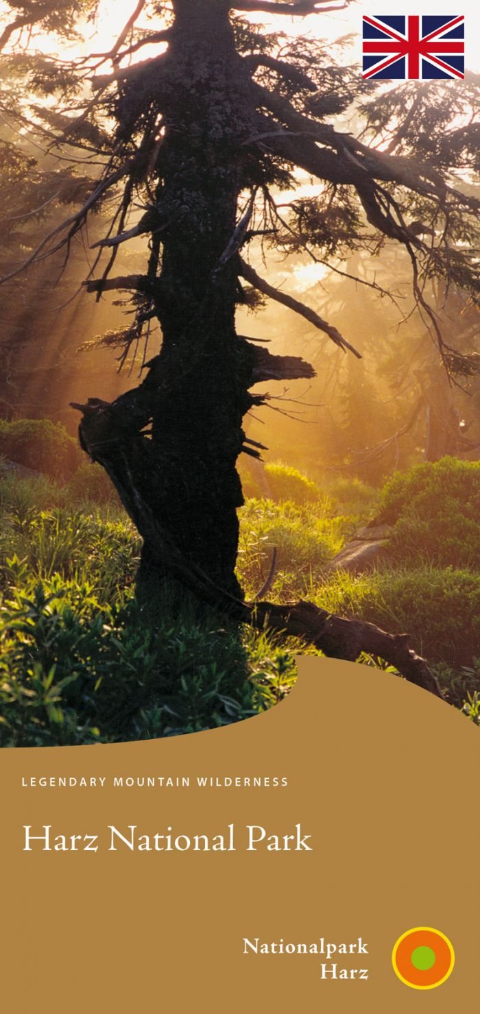 Cover picture of the leaflet 'Harz National Park'